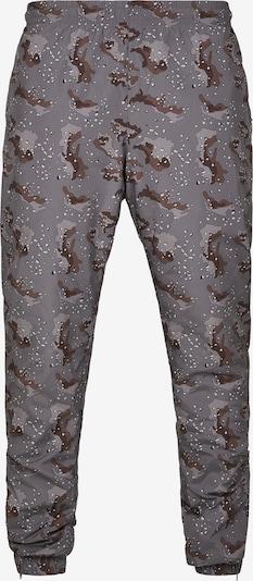 Kelnės iš Urban Classics , spalva - tamsiai ruda / akmens / šviesiai pilka / juoda / balta, Prekių apžvalga