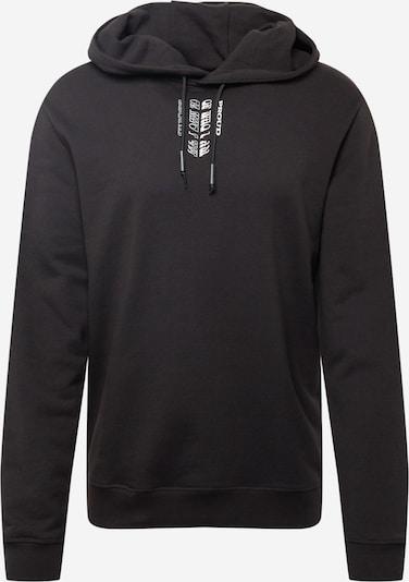 HUGO Sweatshirt 'Darrett' in de kleur Opaal / Koraal / Zwart / Wit, Productweergave