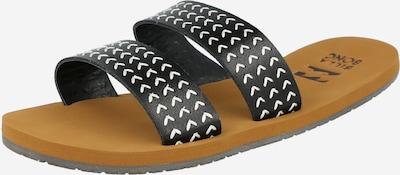 BILLABONG Чехли за плаж/баня 'ODYSSEY' в черно / бяло, Преглед на продукта