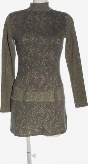 Morgan Langarmkleid in S in braun / gold, Produktansicht