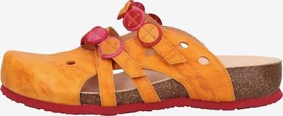 THINK! Pantoletten in gelb / orange, Produktansicht