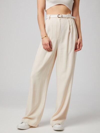 ABOUT YOU x MOGLI Панталон с набор 'Nala' в кремаво, Преглед на модела