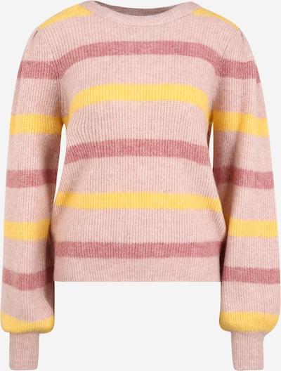 Vero Moda Tall Trui 'PLAZA' in de kleur Geel / Pitaja roze / Oudroze, Productweergave