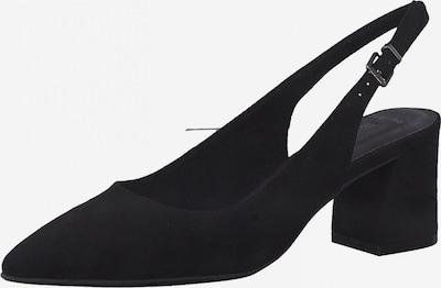 MARCO TOZZI Zapatos destalonado en negro, Vista del producto