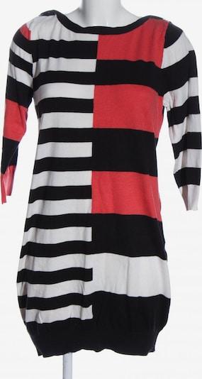 NEXT Strickkleid in XL in rot / schwarz / weiß, Produktansicht
