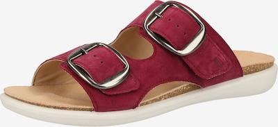 Legero Pantoletten in rot, Produktansicht