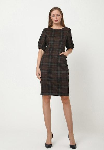 Madam-T Kleid 'AGARATA' in mischfarben, Modelansicht