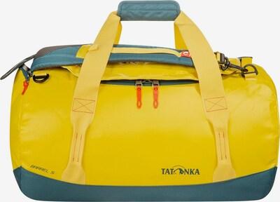 TATONKA Reisetasche 'Barrel S ' in gelb / petrol / rot, Produktansicht