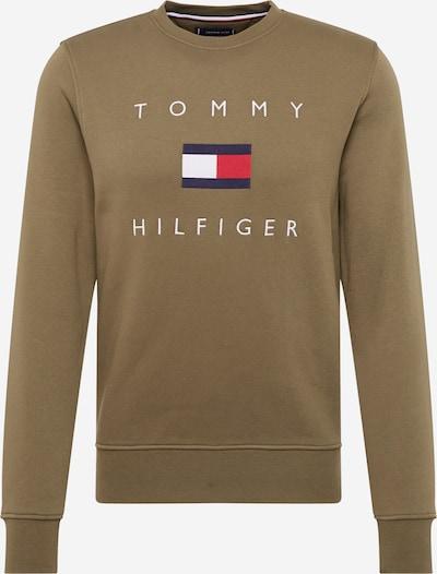TOMMY HILFIGER Sweatshirt in de kleur Olijfgroen, Productweergave