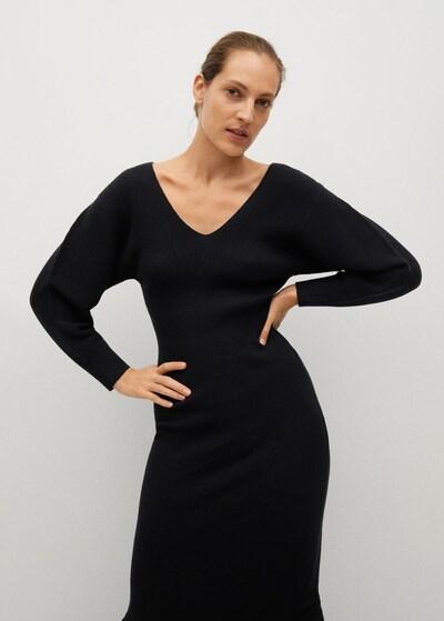 MANGO Kleid 'Nibia' in schwarz, Modelansicht