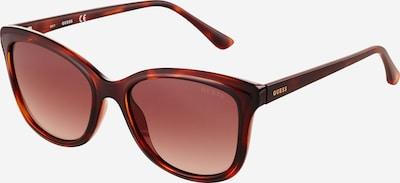 Ochelari de soare GUESS pe maro / roz, Vizualizare produs