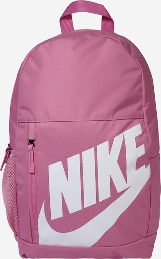 NIKE Sport-Rucksack in rosé / weiß, Produktansicht