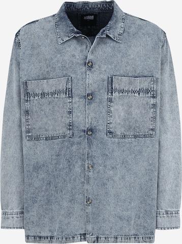 Camicia di Urban Classics Plus Size in blu