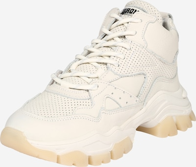 Sneaker low BRONX pe alb, Vizualizare produs