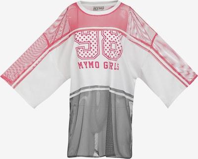 myMo ATHLSR T-shirt fonctionnel en rose / noir / blanc, Vue avec produit