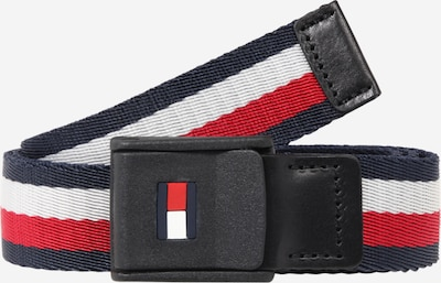 TOMMY HILFIGER Riem in de kleur Donkerblauw / Rood / Wit, Productweergave