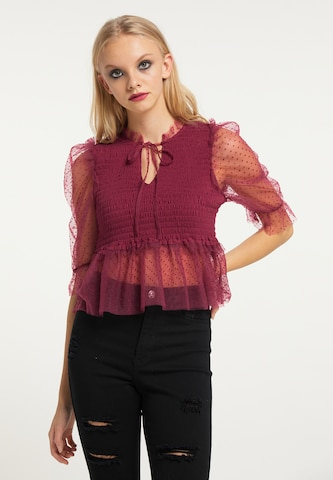 myMo ROCKS Bluse in Rot