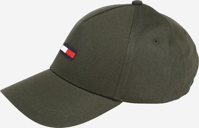 Tommy Jeans Čiapka - tmavomodrá / olivová / červená / biela, Produkt