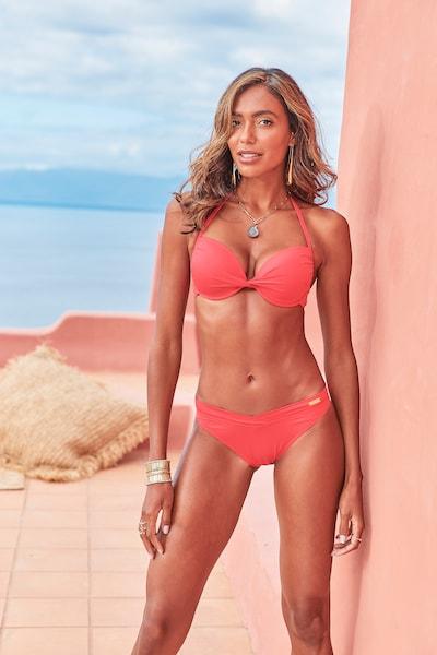 LASCANA Bas de bikini 'Pride' en rouge, Vue avec modèle