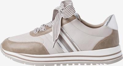 JANA Sneaker in grau / taupe / weiß, Produktansicht