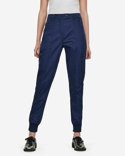 G-Star RAW Pantalon chino en bleu roi, Vue avec modèle