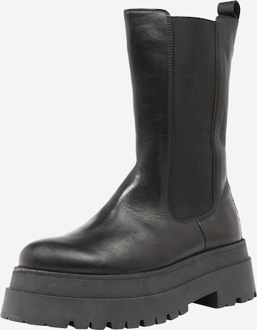 ABOUT YOU Boots 'Liv' in Black