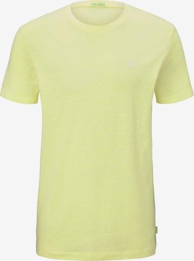TOM TAILOR DENIM T-Shirt in gelb, Produktansicht