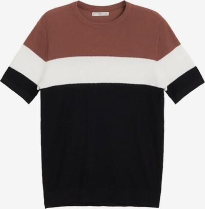 MANGO MAN Pullover 'Bold' in braun, Produktansicht