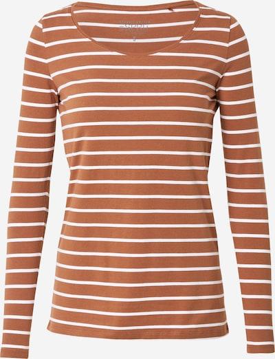 ESPRIT Shirt in karamell / weiß, Produktansicht