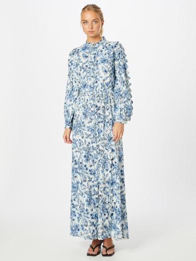 Fabienne Chapot Kleid 'Scallop' in hellblau / naturweiß, Modelansicht