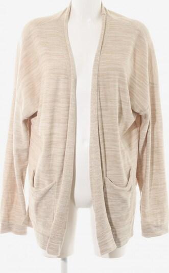 DELICATELOVE Shirtjacke in XL in beige / weiß, Produktansicht