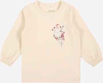 NAME IT Shirt 'KANNIE' in Beige