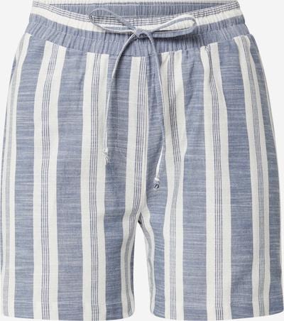 basic apparel Pantalon 'Evita' en bleu / blanc, Vue avec produit