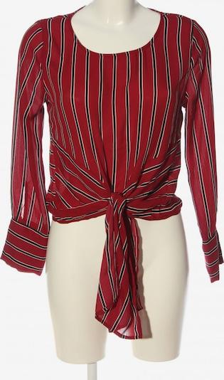 Active USA Langarm-Bluse in M in rot / schwarz / weiß, Produktansicht