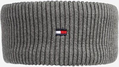 TOMMY HILFIGER Muts in de kleur Navy / Lichtgrijs / Vuurrood / Wit, Productweergave