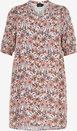 GOZZIP Kleid in blau / grasgrün / rot / weiß, Produktansicht