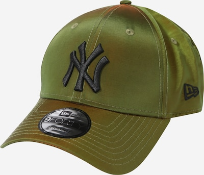 NEW ERA Cap '9FORTY' in anthrazit / oliv, Produktansicht