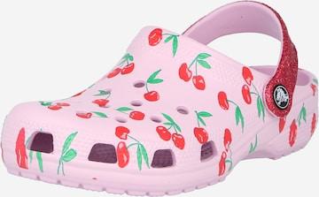 Sandale de la Crocs pe roz