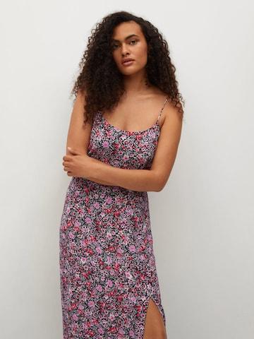 Rochie de vară 'Bird' de la MANGO pe negru