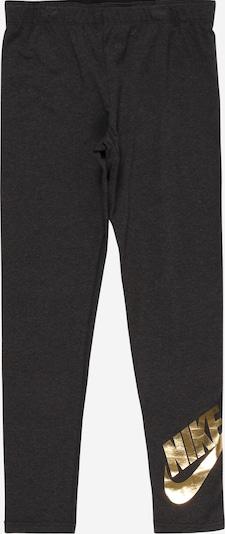 Leggings Nike Sportswear pe auriu / gri, Vizualizare produs