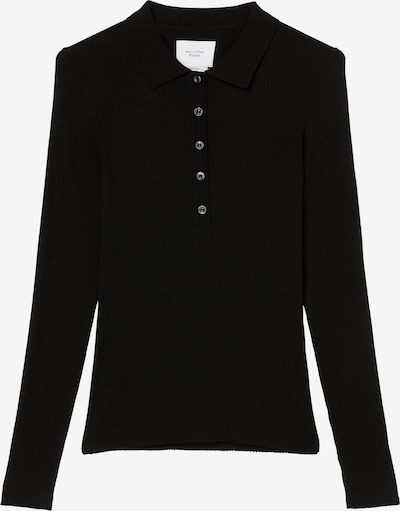 Marc O'Polo Pure Shirt in schwarz, Produktansicht