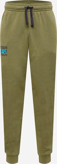 Pantaloni sport UNDER ARMOUR pe bleumarin / kaki, Vizualizare produs