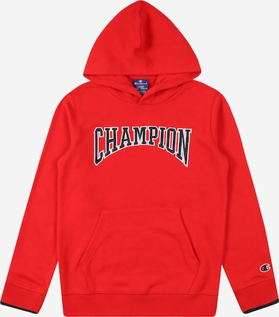 Felpa Champion Authentic Athletic Apparel di colore blu scuro / rosso / bianco, Visualizzazione prodotti
