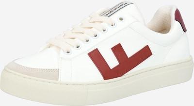 Flamingos' Life Baskets basses 'CLASSIC 70's kicks' en rouge rouille / blanc, Vue avec produit
