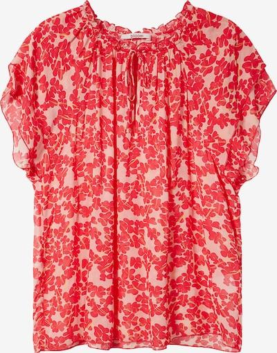 BLOOM Bluse in pink / rot, Produktansicht
