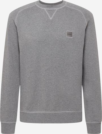 pelēks BOSS Casual Sportisks džemperis 'Westart'