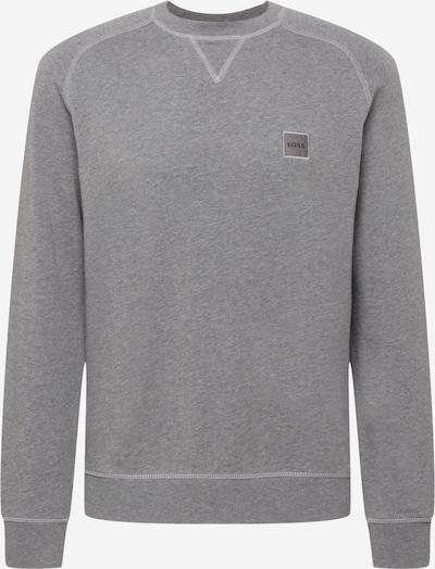 BOSS Casual Sportisks džemperis 'Westart', krāsa - pelēks, Preces skats