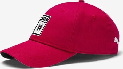 PUMA Sportcap 'Österreich' in cranberry / schwarz / weiß, Produktansicht