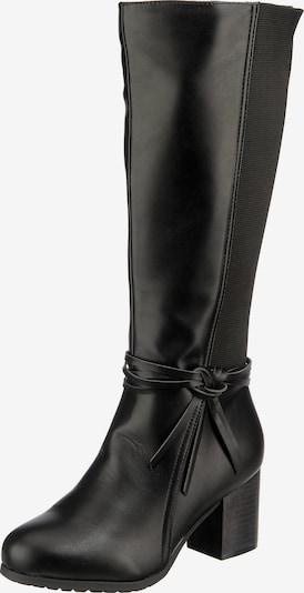 ambellis Klassische Stiefel in schwarz, Produktansicht