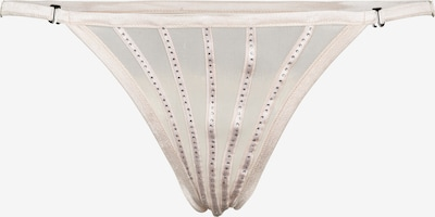 OW Intimates String 'CRYSTAL' in beige, Produktansicht